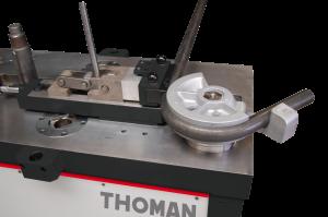 Curvador de tubos-rotación
